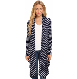 Christin Michaels - Noelle Striped Kimono