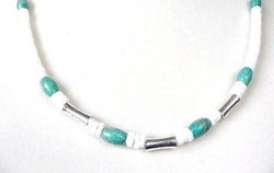Palm Tree - Tucson Turquoise Necklace