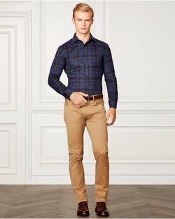 Ralph Lauren - Aston Plaid Cotton Shirt