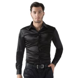 Threeseasons - Long Sleeve Fit Basic Dress Shirt