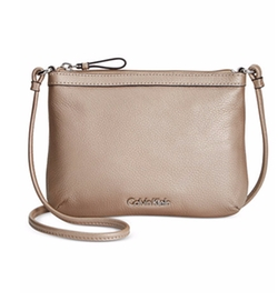 Calvin Klein - Pebble Leather Crossbody Bag