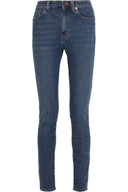 Saint Laurent - High-Rise Skinny Jeans