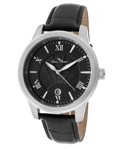 Lucien Piccard  - Pizzo Leather And Textured Dial Watch