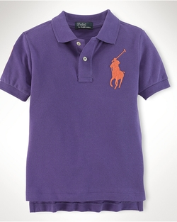 Polo Ralph Lauren - Big Pony Cotton Mesh Polo Shirt