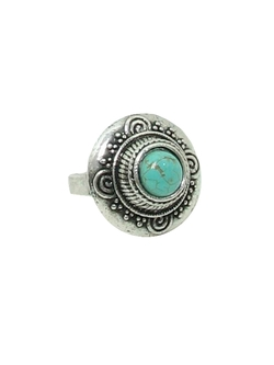 Rusty Zipper - Round Hippie Ring