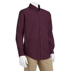CROFT & BARROW - Solid Easy-Care Casual Button-Down Shirt