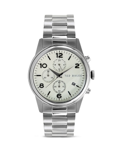 Ted Baker  - Stainless Steel Vintage Chronograph Watch