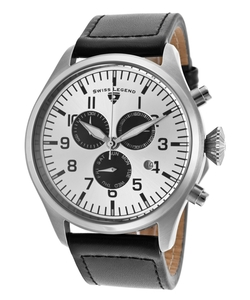 Swiss Legend - Pioneer Genuine Leather Watch
