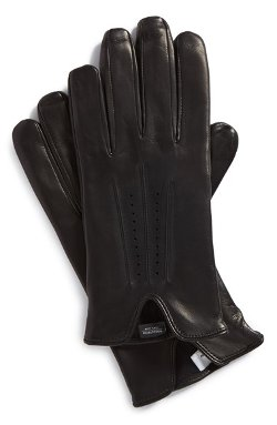Nordstrom  - Perforated Leather Gloves