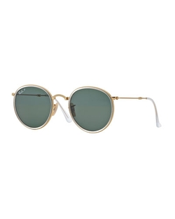Ray-Ban - Round Metal Sunglasses