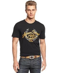 Armani Jeans  - Roma Graphic T-Shirt