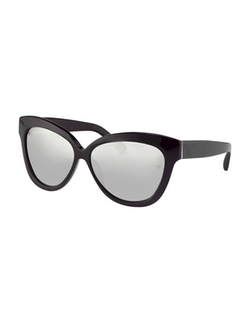 Linda Farrow  - Thick Cat-Eye Sunglasses