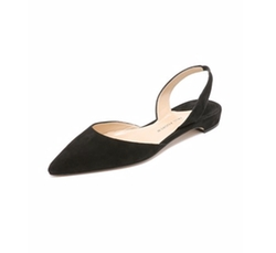 Paul Andrew - Rhea Suede Flat Shoes