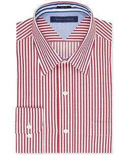 Tommy Hilfiger - Slim-Fit Bold Stripe Dress Shirt
