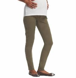 Loft - Maternity Super Skinny Cargo Pants In Stretch Cotton Twill