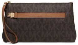 MICHAEL Michael Kors - Charlton Medium Leather Wristlet Bag