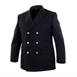 Elbeco  - Double Breasted 2 Pocket Polyester Blazer