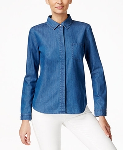 CeCe  - Denim Shirt
