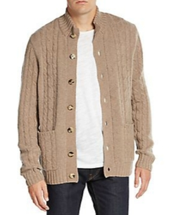 Saks Fifth Avenue - Cashmere Cable-Knit Cardigan