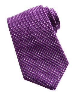 Giorgio Armani   - Textured Dot-Neat Tie