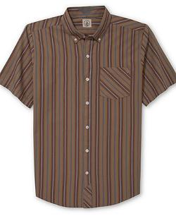 Volcom  - Weirdoh Stripe Short Sleeve Shirt