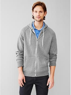 Gap - Lived-In Zip Hoodie