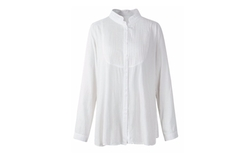 Lanmo  - Women Pleated Blouse