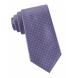 Black Brown 1826 - Dotted Silk Tie