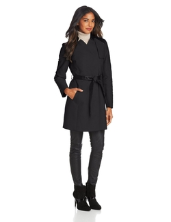 French Connection - Notch Collar Trench Coat