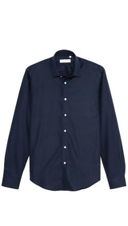 Mr. Start  - Square Collar Oxford Shirt