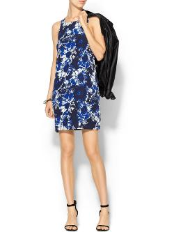 Piperlime Collection  - Printed Sleeveless Mini Dress