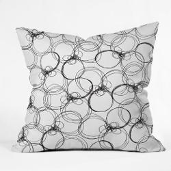 Deny Designs - Rachael Taylor Circles Pillow