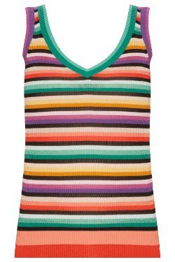 Missoni - Stripped Tank Top