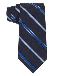 DKNY  - Classic Fit East River Stripe Tie