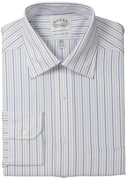 Eagle - Fit Non Iron Grey Multi Stripe Shirt