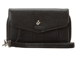 Knomo London - Seymour Leather Wristlet Bag