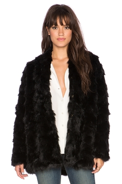 Heartloom - Tess Faux Fur Coat