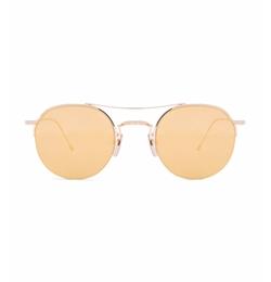 Thom Browne - Round Brow Bar Sunglasses