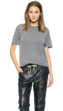 T by Alexander Wang  - Lightweight T-Shirt