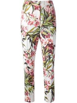 Dolce & Gabbana  - Floral Print Trouser