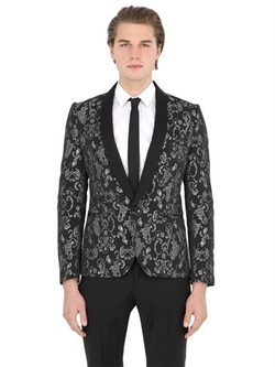 Christian Pellizzari  -  Lurex Jacquard Evening Jacket