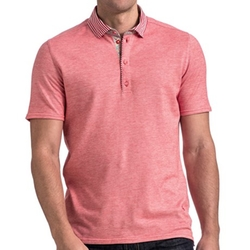 Stone Rose - Oxford Knit Polo Shirt