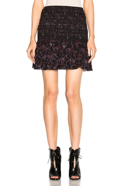 Derek Lam 10 Crosby - Smocked Mini Skirt
