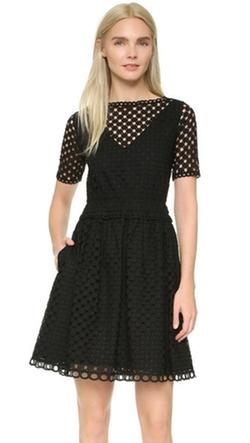 Carven  - Short Sleeve Dress