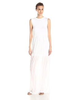 French Connection - Carnival Ruffle Sleeveless Maxi Dress
