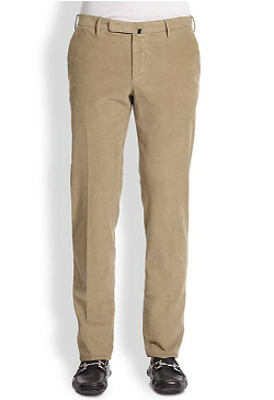 Incotex - Slim-Fit Corduroy Pants