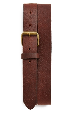 Topman  - Embossed Leather Belt