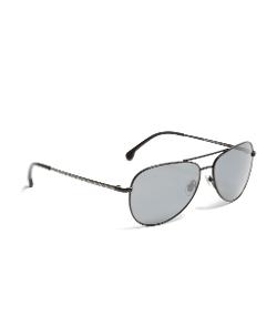 Brooks Brothers - Stripe Arm Sunglasses