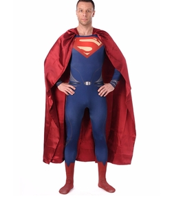 Wraith Of East - Adult Superman Of Steel Costume