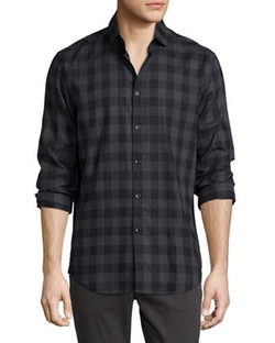 The Good Man Brand  - Buffalo Check Woven Sport Shirt